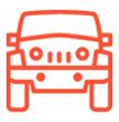 Picto pour la couverture assurance<br /> voiture